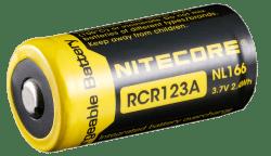 Аккумулятор NITECORE RCR123 650 mAh