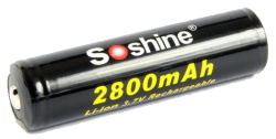 Аккумулятор SOSHINE 18650 2800mAh