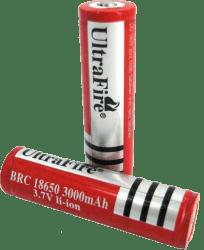 Аккумулятор ULTRAFIRE 18650  емкость 3000mAh