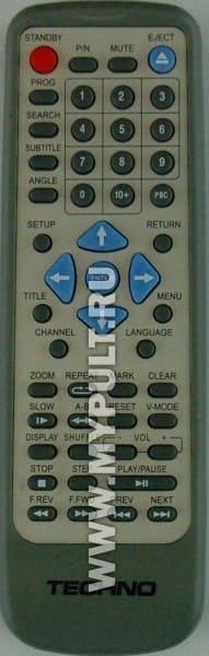 Пульт TECHNO DVD-1