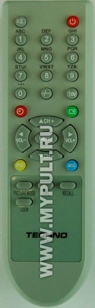 Пульт TECHNO RC-815