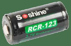 Аккумулятор SOSHINE RCR123 (16340) 700mAh