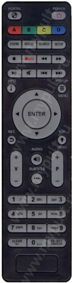 Пульт DUNE TV-102 HD CONNECT